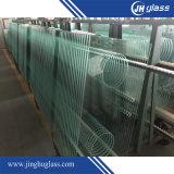建物のための8mmのゆとりの酸の腐食の平らなか曲がった緩和されたか強くされたガラス