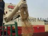 콩 곡물 수확기 기계