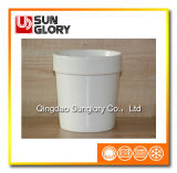 Cerâmica Branca Flowerpot de Gyp059