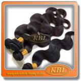 Prolongation péruvienne de cheveux humains de produit capillaire de Kbl
