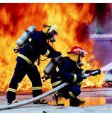사려깊은 테이프를 가진 화재 한 벌을 입는 개인화된 화재 싸움