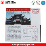 Impresión en color de alta calidad están ajustadas de puerta/billete de papel
