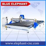 Máquina de madera de trabajo grande del CNC del eje del ranurador 3 del CNC de la talla 2200X4000m m