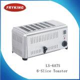 Venta caliente de acero inoxidable eléctrico 6-Slice Toaster