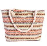 新しいハンドバッグの各国用の風の大きい容量のキャンバスのショルダー・バッグの方法多彩な浜袋
