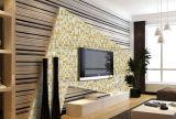 Mosaico di piccola dimensione di vetro di spessore 4mm/mosaico di nuoto/colorata Pool/TV parete di vetro
