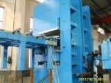 Rahmen-Typ Vorlagenglas-vulkanisierenpresse-Maschine für Gummiblatt