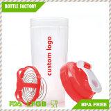 يحرّر [800مل] [ببا] بلاستيكيّة بروتين رجّاجة زجاجة
