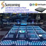 Chinesischer erfinderischer Zeit-Tunnel LED Dance Floor des Spiegel-3D