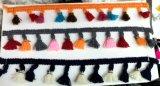 Più colora la frangia variopinta della nappa per Hometextiles