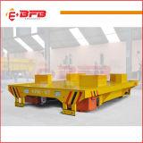 El carro de aluminio de la transferencia de la bobina se aplicó en industria pesada en los carriles