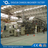 高速熱紙加工の機械装置