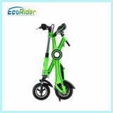 Bicyclette pliante électrique sans roues à bicyclette sans brosse 36V 250W
