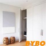 2017 индивидуальные современное глянцевый белый шкаф дизайн (S-6)