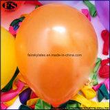 Orange Farbe 2017 Großhandel Rundballon, aufblasbarer Helium-Ballon