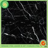 201 304 316 het Marmeren Roestvrij staal Sheet van pvc Lamination Decorative voor Keukenkast Cupboard
