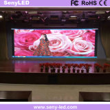 위원회를 광고하는 실내 전시 임대료 LED
