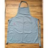 Kundenspezifisches Qualitäts-blaues Baumwollarbeits-Schutzblech für Gaststätte