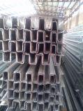 Perfil de aço da canaleta (preço do fator)