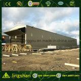 軽いプレハブの鉄骨フレームの倉庫アフリカ(LS-S-088)