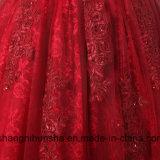 Apliques das mulheres e cordão curto Prom vestidos elegantes