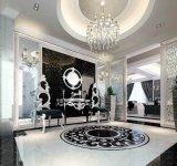 Marmeren Tegel van de Kleur van de Decoratie van de muur de Beige (600*120)