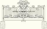 De nieuwe Decoratieve Tuin Gesmede Poort van het Metaal