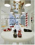 ヨーロッパの靴はShopfittingの表示据え付け品、靴の床の立場を小売りする
