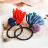 5 Band van het Haar van de Bal Poms van de Leeswijzer POM van het Garen van kleuren de Wollen Elastische