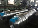 造られるステンレス鋼の重機の鍛造材シャフト