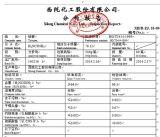 CAS Nr.: 62-56-6 Thiourea 99% Gebruik in de Test van het Laboratorium