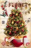 Décoration de Noël de gros de peinture, huile sur toile de Noël