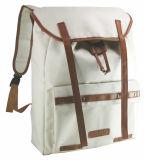 Moda mochila de lona de viagens no exterior