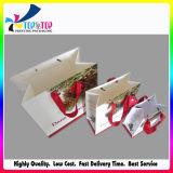 Sacco di carta di vendita del regalo caldo di natale con le maniglie