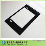 4mm 5mm Silk Bildschirm-Drucken-buntes flaches Kurven-Reichweiten-Hauben-Glas