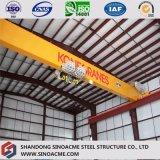 Construction de structure métallique pour l'atelier industriel de Sinoacme