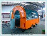 De beste Verkopende Aanhangwagen van de Catering ISO9001