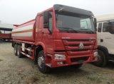 Camion di serbatoio di olio combustibile del camion di serbatoio dell'acciaio inossidabile di HOWO 6*4 20000litres