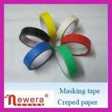 Crepe di mascheramento dell'adesivo di gomma di nastro di carta