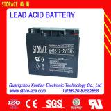 12V17ah recargable de la batería para el generador (6-FM-17)