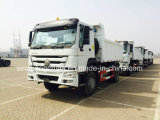 Sinotruk 4X2 HOWO 5 톤 소형 팁 주는 사람 트럭 6 바퀴