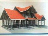 Het lichte Huis van de Structuur van het Staal als PrefabVilla