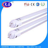 빛 2 년 Warrany 150lm/W 1200mm 18W T8 LED 관