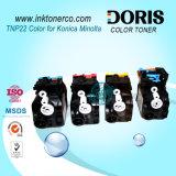 Cartuccia di toner compatibile di colore Tnp22 per Konica Minolta Bizhub C35/C35p