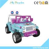 電気おもちゃ車乗の12V電池2のシートのジープ