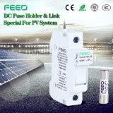 Fusible solaire de C.C de la CE 10*38mm du support 1000V de fusible