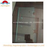 8mm / 10mm / 12mm verre trempé / verre trempé avec des trous ou des découpes