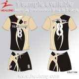 Healong modificó el balompié Jersey de la sublimación para requisitos particulares del tinte del diseñador de la ropa de deportes