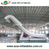 Tipo inflável corrediça das corrediças de água da classe comercial de água inflável
