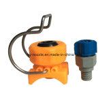 Пластичные быстро соединяют промышленный плоский вентилятор сопло брызга, котор с струбциной устанавливает